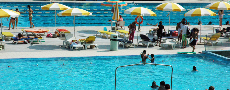 tre piscine